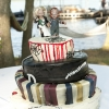 Chuckie and Bride Wedding Cake