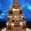 Disney Beach Wedding Cake