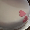 All You Need is Love: Heart Fondant Wedding Cake