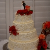 Beautiful Wedding Cake…But We're a Little Concerned About the Marriage
