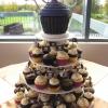 Pirate Themed Wedding Cupcakes