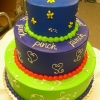 This cake is so bright..I gotta wear shades!