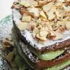 Vegan Nirvana:  Mocha Almond Fudge Avocado Groom's Cake