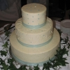 'Something Blue' Wedding Cake