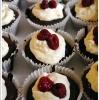 Chocolate Zucchini & Raspberry Cupcakes