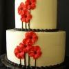 Red Poppy Cake
