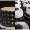 Chocolate Button Cupcakes and Cutting Cake
