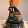 'Nightmare Before Christmas' Cake