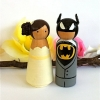 Cake Topper Thursday:  Batman Wedding Cake Topper