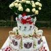 Prince Albert and Charlene Whittstock Wedding Cake
