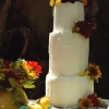 Rustic Autumn Wedding Cake