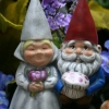 Cake Topper Friday: Gnome Wedding Cake Toppers