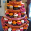 Flower Power Cupcake Tower