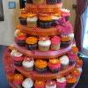 Flower Power Cupcake Tower