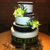 Zen-Inspired Wedding Cake