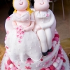 Cake Topper Friday: Gumpaste Bride and Groom