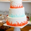 Rock Candy Wedding Cake