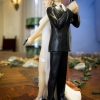 Cake Topper Friday: Mission Impossible Wedding Cake Topper