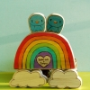 Cake Topper Friday: Rainbow and Little Tweet Cake Topper