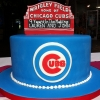 Cake Topper Friday: Chicago Cubs Cake and Topper