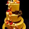 Thanksgiving Cornucopia Cake