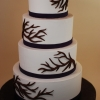 Bare Branch Wedding Cake