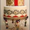 Nutcracker-Inspired Cake