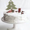Cake Topper Friday: Vintage-Style Christmas Cutouts