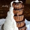 Combination Wedding and Groom's Cake