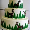 Reindeer Wedding Cake