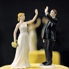 Cake Topper Friday:  High Five Bride and Groom Topper