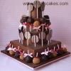 Chocolate Lollipop Cake