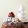 Sparkle White Wedding Cake