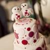 Cake Topper Friday:  Felt Valentine Lovebirds