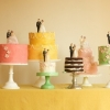 Cake Topper Friday:  Multiple Vintage Bride and Groom Cake Toppers