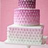 Ombre Sugar Valentine's Heart Cake
