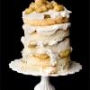 Naked Cake Part Two:  Bananas Foster Wedding Cake