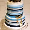Nautical Love Wedding Cake