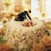 Cake Topper Friday:  Bride in the Cake!