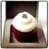 Cake Topper Friday:  Diamond Engagement Ring