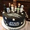 For the Guys:  Star Wars Groom's Cake