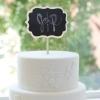 Cake Topper Friday:  Chalkboard Cake Topper