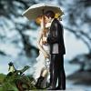 Cake Topper Friday:  Rainy Wedding Day Topper