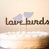 Cake Topper Friday: Love Birds