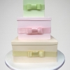 Satin Bows Wedding Cake