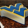 For the Guys:  West Virginia Mountaineers Groom's Cake