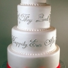 Happy Ending Wedding Cake