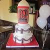 PJs Coffee Wedding Cake