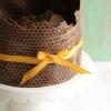For the Guys:  Chocolate Honey Groom's Cake