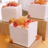 Deconstructed Cube Wedding Cake